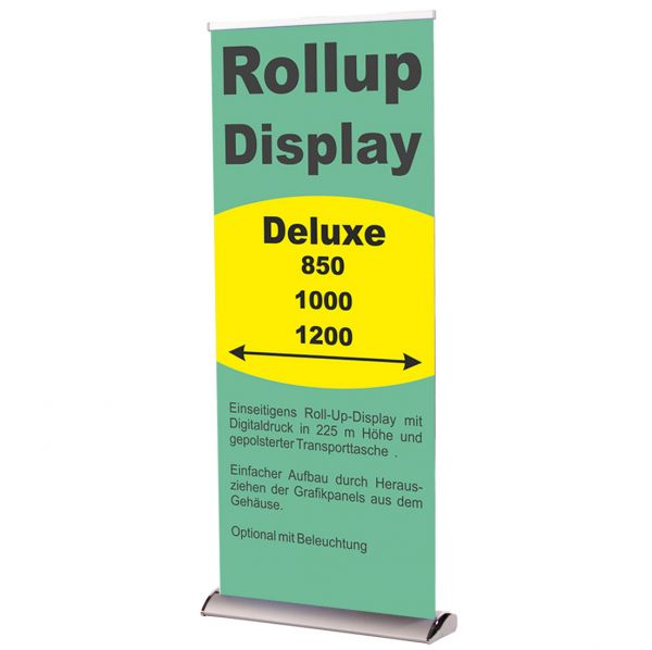 Rollup Banner Display Deluxe