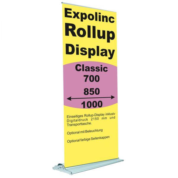 Rollup Banner Display Classic von Expolinc in 700, 850 und 1000