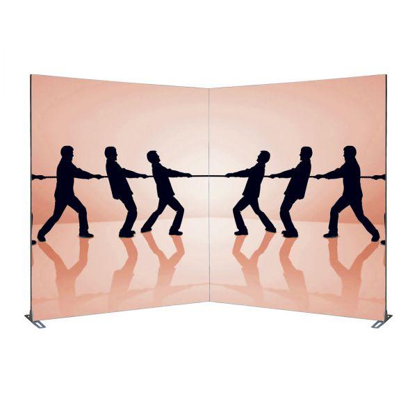 Mobiler Messestand 2 x 2 m mit Expolinc Frame