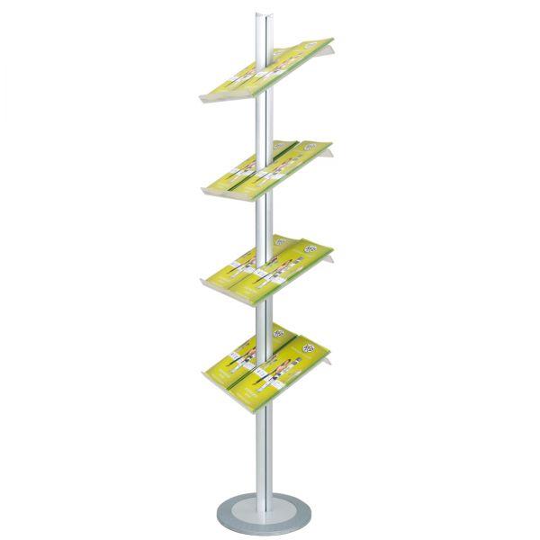 Palo Soistes Prospektständer für DIN A4 Prospekte