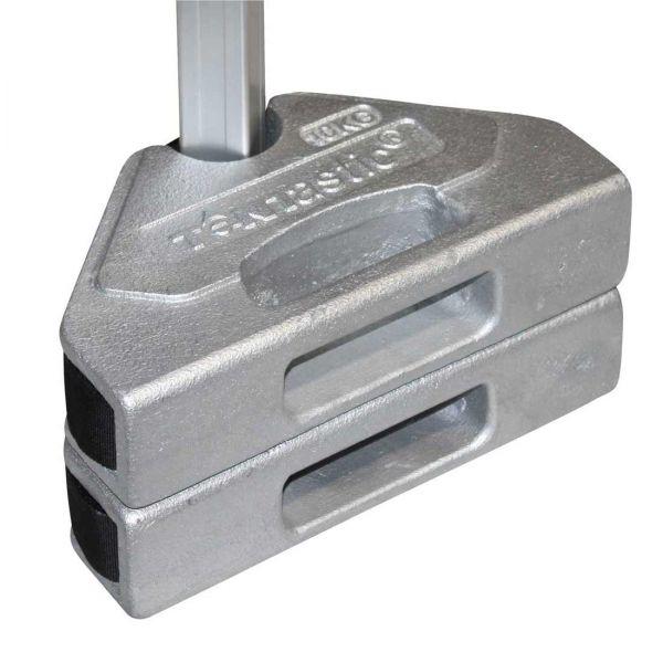 Gewichte-Set 10 kg NEU für Faltpavillons und Faltzelte von Tentastic