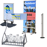 Werbedisplays Outdoor