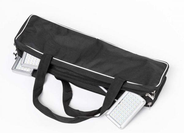 Transporttasche für Langarmstrahler und Banner-Beleuchtung