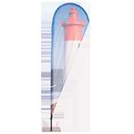 Beachflags und mobile Fahnenmasten