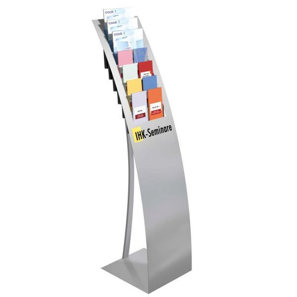 Prospektständer Varia für 7 DIN A4 Prospekte