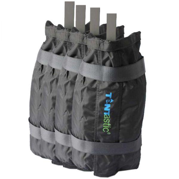 Gewichte-Säcke für die Absicherung von Faltzelten, die mit Kies oder Sand befüllt werden können