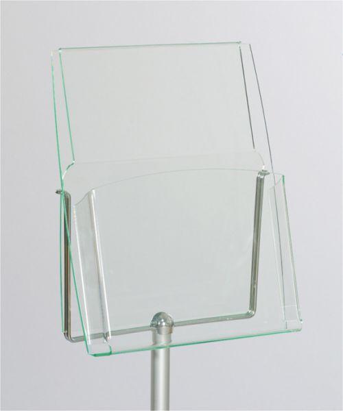 Stopbag Prospekttasche DIN A4 für Haltebügel auf Stopper Eco, Master und Tex
