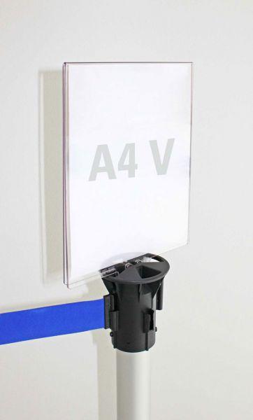 Tempaquick Postertasche DIN A4 hoch für Gurtständer Tempaline