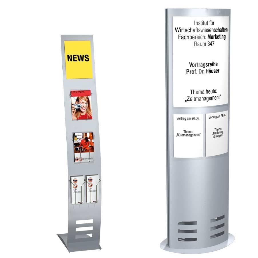 Infoständer - Infosäulen