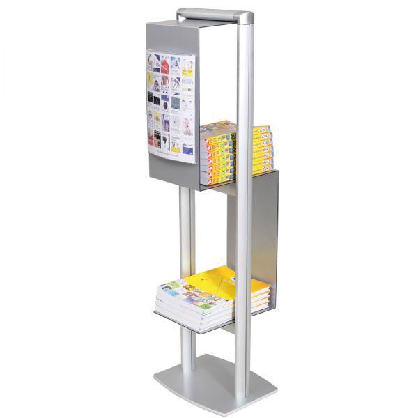 Cubic Katalogständer für DIN A4 Kataloge und Broschüren