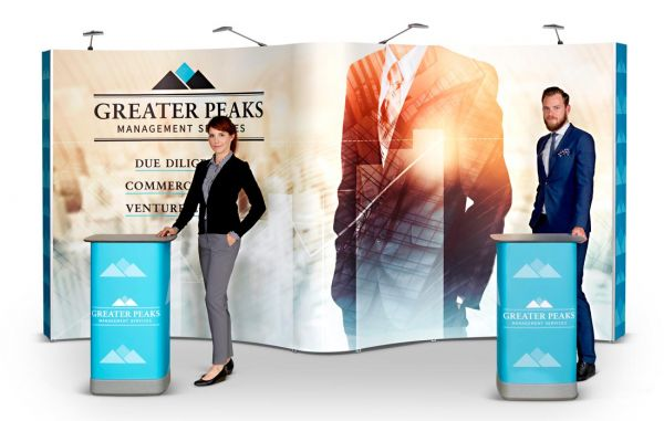 Mobiler Messestand mit Expolinc Popup Magnetic