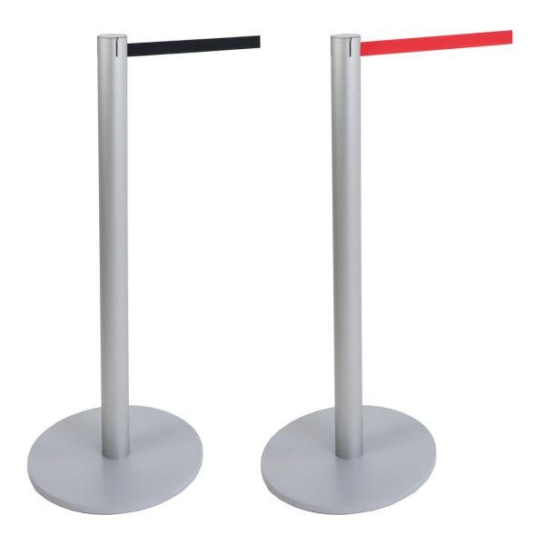Gurtständer Stopper Stiletto Light Alu Personenleitsystem mit Gurt