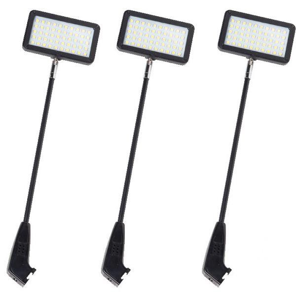 Langarmstrahler LED 50 Set schwarz