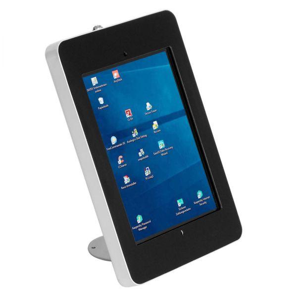 Tablet-Tischhalterung für feste Montage Hochformat