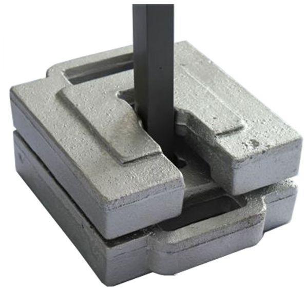 Gewichte Set 10 kg für Faltzelte von Tentastic