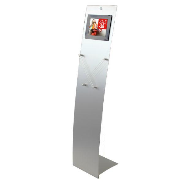 """Prospektständer Velo Media Restyle mit 8"""" LCD Bildschirm"""