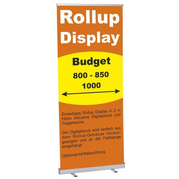 Roll Banner Budget