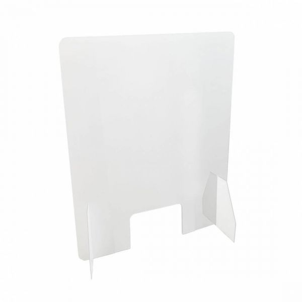 Spuckschutz Thekenaufsteller Plexi 50 x 75 cm