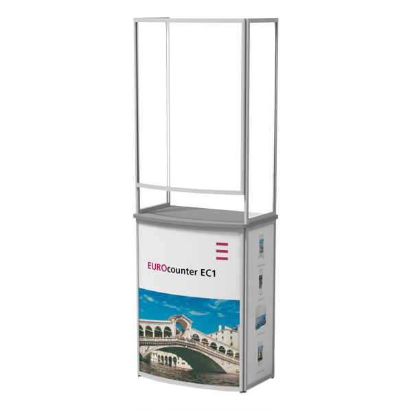 Mobile Theken mit Spuckschutz Eurocounter